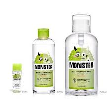 <b>Мицеллярная вода</b> ETUDE HOUSE Monster Micellar <b>Cleansing</b> ...