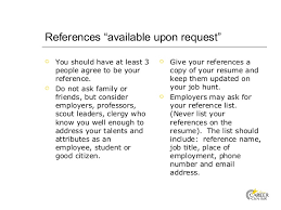 """resume and cover letter   references """""""