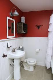 Two Tone Painting Fancy Two Toned Bathroom Paint Ideas