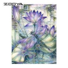 Compare prices on <b>Lotus</b> Leaves Painting - shop the best value of ...