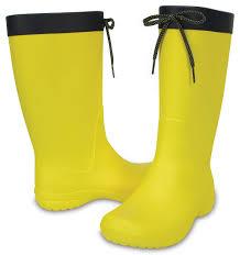 Женские желтые «<b>резиновые</b>» <b>сапоги CROCS</b> Women's Freesail ...