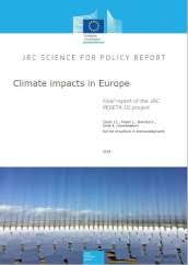 Climate impacts in <b>Europe</b>: <b>Final</b> report of the JRC PESETA III project