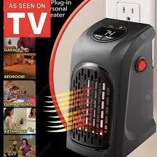 <b>Electric Wall Heater Mini</b> Portable Plug-in Personal Space Warmer ...