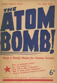 scientists in the quest for peace joseph rotblat the cover of the atom bomb social science association 1945