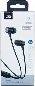 Беспроводные <b>наушники</b> с микрофоном <b>Gal BH</b>-1010 <b>Black</b> (<b>BH</b> ...