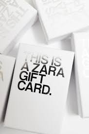 GIFT CARD   ZARA Nederland / Netherlands