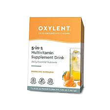 <b>Oxylent Multivitamin Supplement Drink</b> Sparkling Mandarin (7 Day)