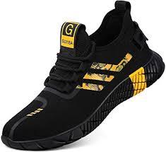 Arillwe Steel Toe Sneakers Men Women Safety Work ... - Amazon.com