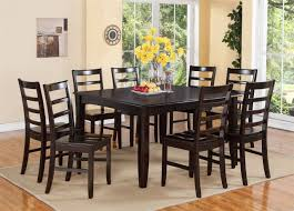 Square Dining Room Table Sets Amusing 9 Piece Dining Room Table Sets High Resolution Cragfont