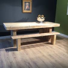 7ft dining table: ft henry viii dining table set x standard benches