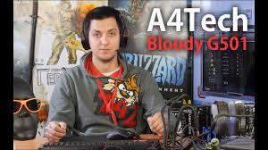 <b>A4Tech</b> Bloody G501: обзор <b>игровой гарнитуры</b> - YouTube