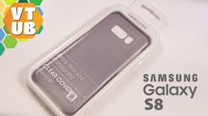 <b>Samsung</b> Galaxy S8 Ultra-thin <b>Clear Cover Чехол</b> за $14 Распаковка