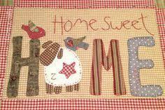 Afbeeldingsresultaat voor home sweet home quilt
