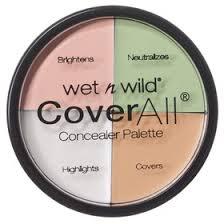 Набор консилеров <b>Wet n Wild</b> Coverall <b>Concealer</b> Palette E61462 ...