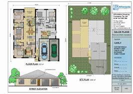 Plan  Dual Family House Plans    Modern Dual Family House Plans Full size