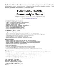 job history resume examples resume examples  work experience