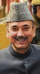 Sh Ghulam Nabi Azad, Union Minister for Health and Family Welfare