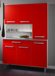 functional mini kitchens small space kitchen unit:  delightful images of kitchen decoration using compact kitchen cabinet beautiful image of small red kitchen