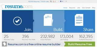 free online tools to create professional resumes   hongkiatresume com