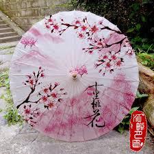 Bamboo Craft Oiled Paper <b>Umbrella</b> Ancient <b>Classic Flower</b> ...