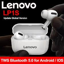מקורי <b>Lenovo</b> LP1S <b>TWS</b> אוזניות אמיתי אלחוטי Bluetooth 5.0 Hifi סטריאו ...