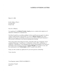 example of a cover letter for a job application template example of a cover letter for a job application