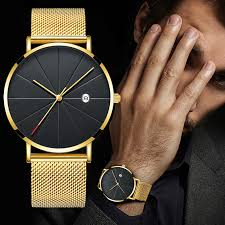 Luxury <b>Fashion Business Watches Men</b> Super Slim <b>Watches</b> ...