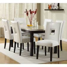 Dining Room Chairs White Luxurious Black White Dining Table Sets Scheme In Antique Room