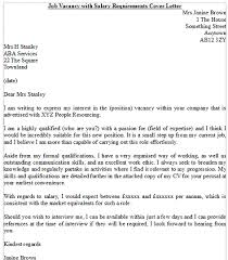 example cover letter for job vacancy   resume writing for high    example cover letter for job vacancy job promotion cover letter example icoverorguk letter example you write