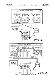 patente us5210530 network management interface internal dsd patent drawing