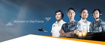 republic of singapore air force w in the force