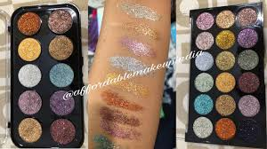 <b>Miss Rose Glitter</b> Eyeshadow Palette - YouTube