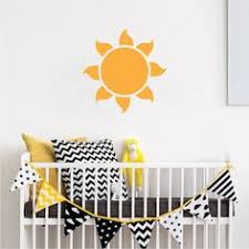 sun wall decal trendy designs: sun vinyl wall decal sticker kids bedroom wall mural self adhesive sun wall decals