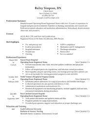 sample resume for registered nurse free download   essay and resume    easy sample resume for registered nurse operating room healthcare  sample resume for
