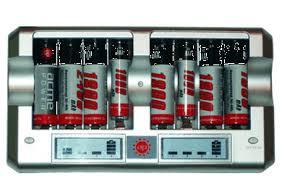 <b>Зарядное устройство AcmePower AP</b>-RC8 NiMh/NiCd AA/AAA (AP ...