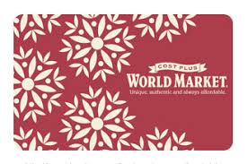 25 days of giveaways: $50 world market giftcard | Gimme Some Oven