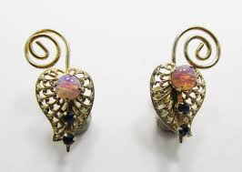 Whimsical <b>Vintage</b> 1950s Filigreed <b>Faux Opal</b> and by GildedTrifles ...