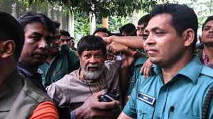 Bangladesh - photographer Shahidul Alam in Dhaka on August 6, 2018