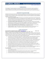 the best district manager resume sample resume template info gallery of the best district manager resume sample