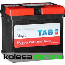 """Купить <b>аккумулятор легковой</b> """"<b>TAB</b>"""" Magic MF (55 Ач о/п) в Орске ..."""