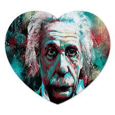 Коврик для мышки (сердце) Альберт Эйнштейн #1563604 от ...