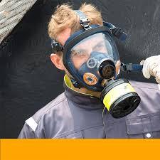 Chemical <b>Mask</b> Full <b>Face</b> Gas <b>Mask Dustproof Respirator</b> Rubber ...