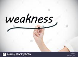 businessw writing the word weaknesses stock photo royalty businessw writing the word weaknesses