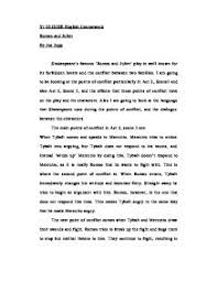 act  scene  romeo and juliet essay   writing a good essayact  scene  romeo and juliet essay