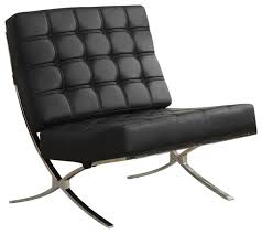 coaster x style chrome legs black faux leather waffle accent chair armchairs and accent black and chrome furniture