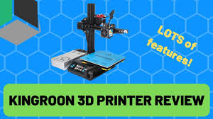 Can I Even Get It To Print!? - <b>Kingroon 3D Printer</b> Review - YouTube