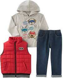 Kids Headquarters Boys' 3 Pc Vest Set: Clothing - Amazon.com