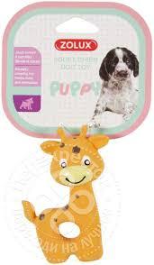 <b>Игрушка для собак Zolux</b> жирафик латекс - купить с доставкой на ...