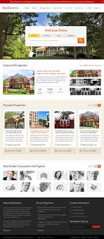 home page psd layout for real estate website madan patil psd home page design for real estate website