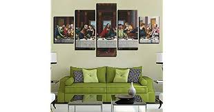 Decor paintings <b>5 pieces modular wall</b> art picture for living room HD ...